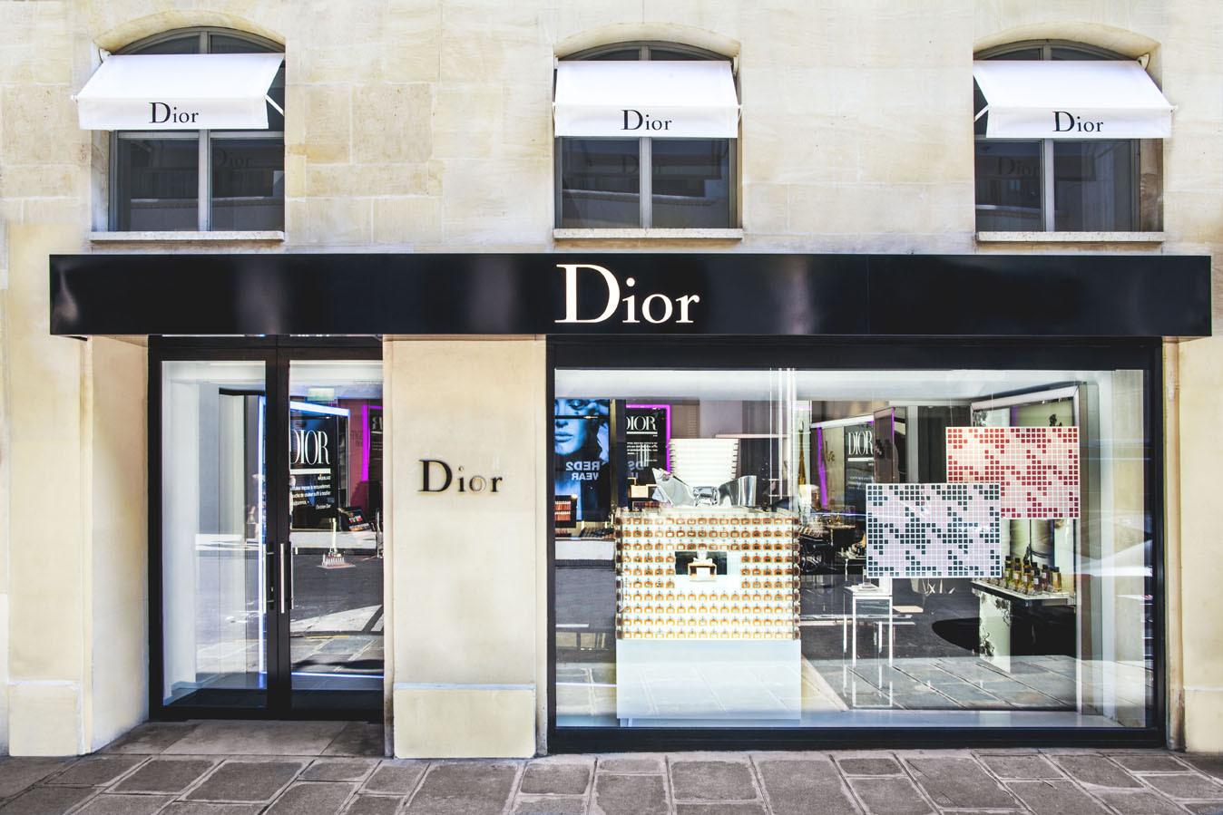 Dior ouvre une boutique éphémère à Paris pour sa ligne de beauté